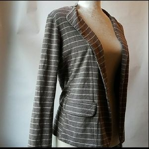 Anthropologie Jackets & Coats - Anthropologie striped blazer Dolan Left Coast